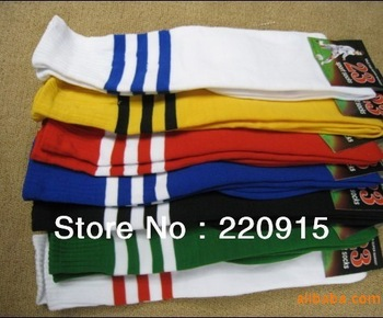 New Free Shipping EMS/DHL ! good quality Soccer socks, football socks, stockings for student