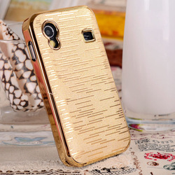 Plated Hard Case Cover for Samsung Galaxy Ace S5830,1pcs/lot, free shipping(China (Mainland))