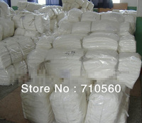 free shiping silk cotton mixture blend fabric 9m/m 30% silk 70% cotton 114cm width natural white for dyeing 50yards per bag