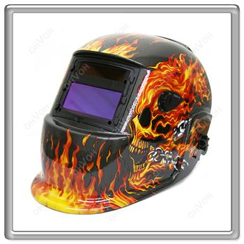 Flame Auto Darkening Mig Tig Mag Welding Grinding Helmet Welder Mask Free Shipping