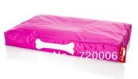 Free shipping Doggie Lounge Large Pink Dog Bed, original pet cushion, luxury pet bedding, outdoor strong pet bean bag beds