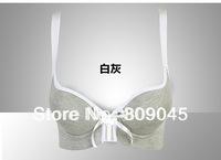 factory price!fashion cotton women's sexy bra +random brief ,sexy bra and briefs lingeire,ladies barasiere, closure6022-white