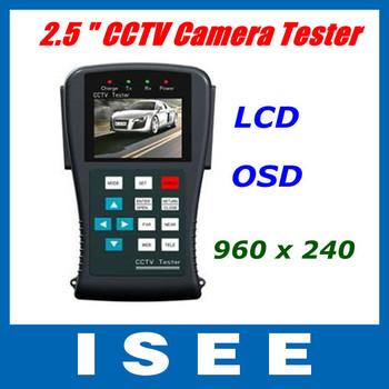 Christmas Big sale  2.5 inch LCD Monitor CCTV Camera Video PTZ Test Tester OSD
