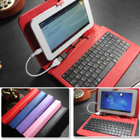 Drop Shipping 7 inch Full of PU Material Colorful Q88 tablet pc Leather Case Free Shipping