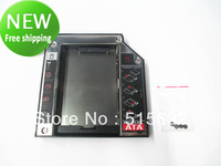 9.5mm SATA 2nd HDD Adapter Caddy Bay For IBM Lenovo 43N3412 T400s T500 T410 New free shipping