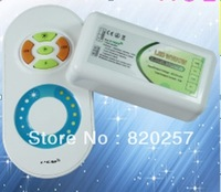 Free shipping 2.4G Color Temperature & Brightness adjustable RF controller 12V/24V Smartphone or Tablet WiFi Compatible