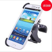 Motor Bike Holder Mobile Phone For Samsung GALAXY S3 SIII I9300 Bicycle Motorcycle Handlebar GPS mount