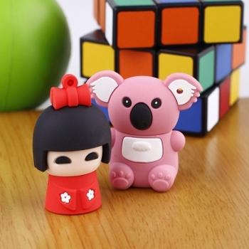 Three-dimensional cartoon usb flash drive usb flash drive soft rubber usb flash drive 8g gift usb flash drive