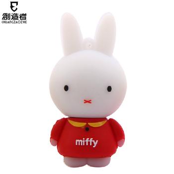 Usb flash drive 8g rabbit cartoon usb flash drive personalized usb flash drive