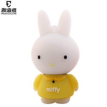Usb flash drive 16g rabbit cartoon usb flash drive personalized usb flash drive