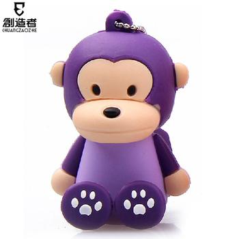 Usb flash drive 8g little monkey cartoon usb flash drive personalized usb flash drive