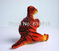Free Shipping 2Pcs/Lot Spine Back Dragon Jurassic Park Dinosaur Children's Cartoon Plush Toy Stuffed Animals Doll Model