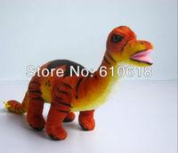 Free Shipping 2Pcs/Lot  Jurassic Park Dinosaur Children's Cartoon Plush Toy Doll Model