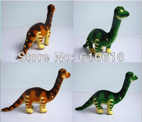 Free Shipping Wholesale 24Pcs/Lot 2 Colors  Meandering dragon Jurassic Park Dinosaur Children's Cartoon Plush Toy Doll Model