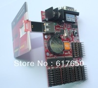 HD-U3 LED display control card,single & dual color support ,USB interface controller asynchronously,Communiction:RS232