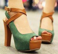 free shipping 2013 news high heel peep toe shoes heels platform women fashion patent leather sexy pumps P3674 hot size 34-39