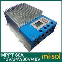 60A MPPT solar regulator 12V24V36V48V auto work, MPPT solar charge controller