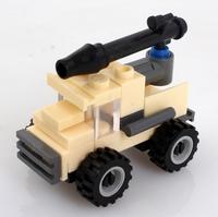 Minimum order US$10 Free Shipping KAZI 84018 28pcs Mini Military cannon wheels Children DIY building Blocks to