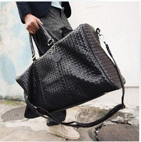 Fast Shipping 2013  man bag cylincler knitted bag travel bag