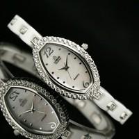 Lobor table women's watch quartz watch sallei diamond ceramic watchband
