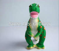 2013 Free Shipping 2Pcs /Lot Dilophosaurus Jurassic Park Dinosaur Children's Cartoon Plush Toy Gift Doll Model