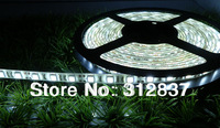 Freeshipping 5m 300LED 3528 SMD waterproof 12V flexible light 60led/m LED strip, white/warm white/blue/green/red/yellow