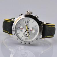 Lobor automobile race fashion mens watch 3 6 needle silver supracrustal silver dial