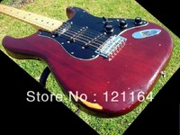 best New Arrival guitar 6 string red Electric Guitar !! Free shipping