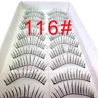 hot+ wholesale #116  handmade false eyelashes (10 pairs) handmade false eyelashes