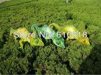 Free Shipping Wholesale 6Pcs/Lot 3 Colors Simulation Chameleon Plush Toy Doll Model Children Creative Birthday Gift Home Decor