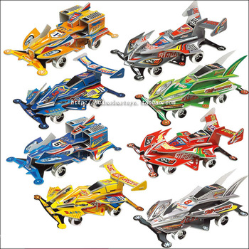 free shipping 3d puzzle WARRIOR car 4x4 car model 3d child toy