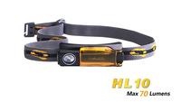 Free shipping Fenix HL10 CREE XP-E LED Headlamp 70 Lumens Waterproof Rescue Search headlight