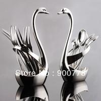 Stainless steel dee german art fruit fork set 18- 10 stainless steel fashion vintage coffee spoon