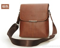 2013 Free shipping/Men messenger bags totes for men leather bag 21*24*7cm shoulder bag