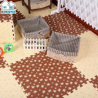 Free shipping, Eva puzzle mats foam floor mat solid color patchwork 30 60cm