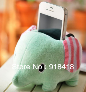 "Wholesale (free shipping EMS) San-x circus dream circleof cell phone holder plush toy doll 10cm-4""(China (Mainland))"