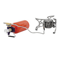 Fashion Dual muxincamp outdoor cooking utensils burner oilstove windproof gas stove gas furnace kerosene stove