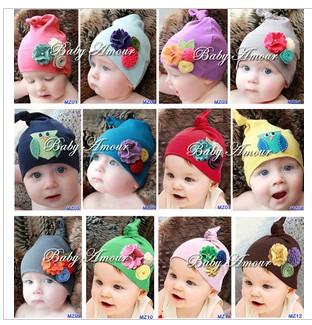 Fashion baby cap baby style pocket owl hat cotton hat b60(China (Mainland))