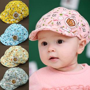 Princess child summer hat baby baseball hat cap baby beret cap style(China (Mainland))