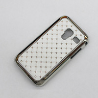 Free shipping ,Rhinestone Case for Samsung GALAXY Ace Plus,mobile cell phone case for S7500 ,S7500 cellphone case
