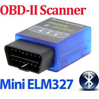 HOT ELM327 V2.1 Car Mini Bluetooth ELM 327 OBD OBDII OBD-II OBD2 Protocols Auto Diagnostic Tool