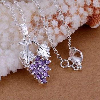 P206 925 silver fashion jewelry necklace chain pendant 925 silver pendant kqsa tiba