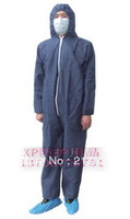 045a one piece protective clothing bunny suit painted disposable non-woven protective clothing