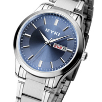 Ikey men's watches fashion waterproof strip mens watch male quartz watch calendar lovers fashion table