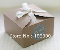 freeshipping Baking Packaging,kraft paper cake packaging Boxes cookies box,14.5*14.5*8cm,Wholesale,30pcs/lot