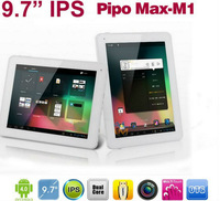 "Free shipping! IPS Screen 1024x768 Pipo M1 9.7"" bluetooth  android 4.1 tablet RK3066 Dual core 1GB RAM Dual camera  WIFI"