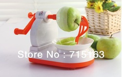 free shipping convenient fruit peeler automatic apple zester (apple slicer as a gift)(China (Mainland))