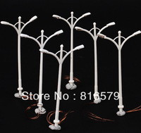 100pc Wholesale -  1:100 scale street light for Landscape Train Model Scale architectural scenery