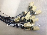 G9 crystal bulb lamp BASE ceramic socket lampholder 100pcs