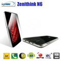 Zentihink N6 6 inch mobile phone android 4.0+5.0MP+3G+GPS+2800Mah+8GB+MTK6577 dual  core